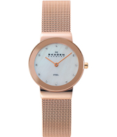 358SRRD Freja Small 26mm Rose Gold Milanese Ladies Watch