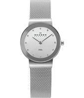 358SSSD Freja Small 26mm Silver Milanese Ladies Watch