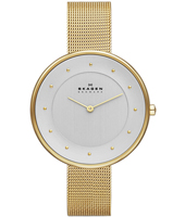 SKW2141 Gitte Large 38mm Gold ladies watch with Milanese bracelet