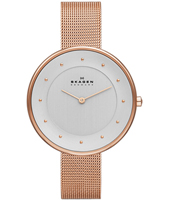 SKW2142 Gitte Large 38mm Rose gold ladies watch with Milanese bracelet