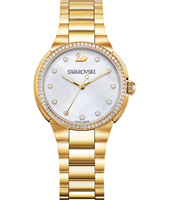 5221172 City Mini 31mm Gold watch with crystals