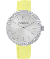 5095643 Daytime 34mm Swiss Made ladies watch with lemon leather strap