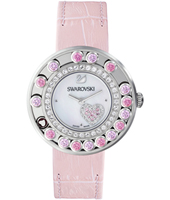 5096032 Lovely Crystals 35mm Pink Ladies Watch with Crystals