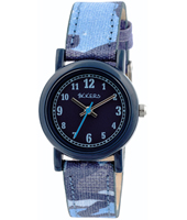 TK0106 Camouflage Blue kids watch with camouflage strap