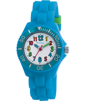 TK0012 Funky Numbers  Blue Children's Watch