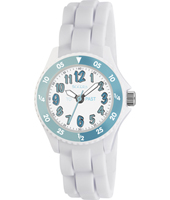 TK0118 To & Past white & blue kids watch