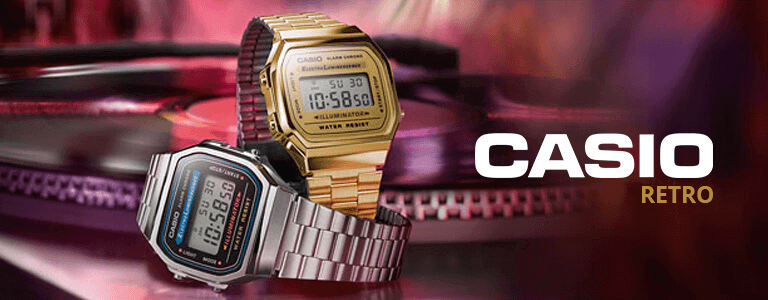 <h1>Casio Retro watches</h1>